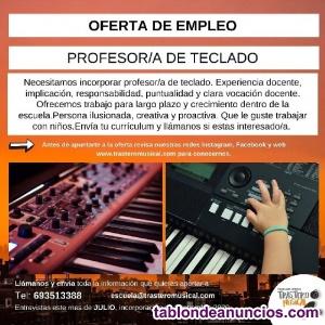 Profesor/a  teclado
