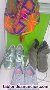 Zapatos deportivos y bolso de oportunidad