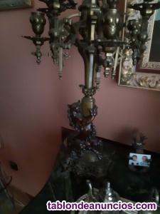 Conjunto candelabros