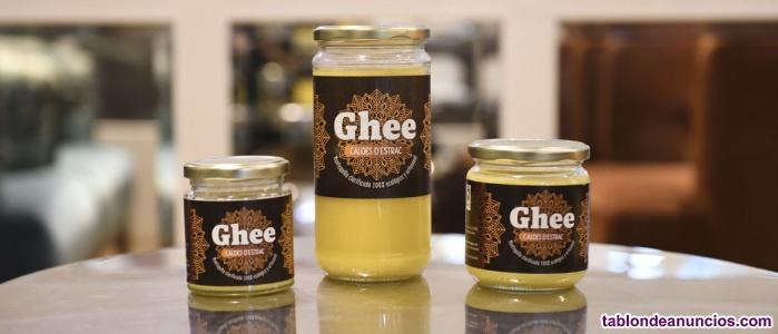 Ghee Caldes d'Estrac mantequilla clariicada ayurveda 100% artesanal, ecologica..