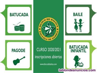 Clases de Batucada y Samba en Bloco do Baliza