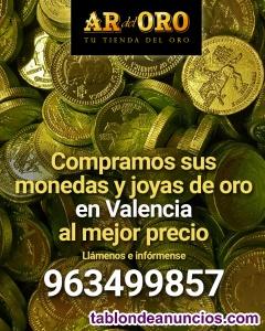 Compro oro al mejor precio en valencia