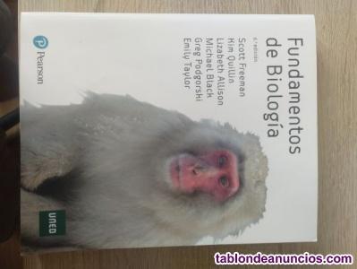 Venta libro Biología 1º Grado Químicas UNED