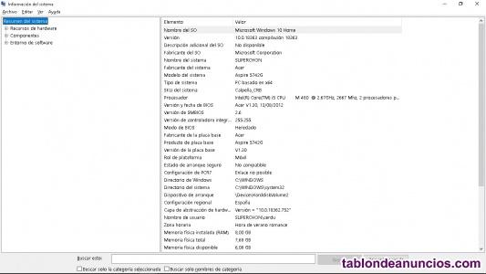 Portatil Acer 5472G