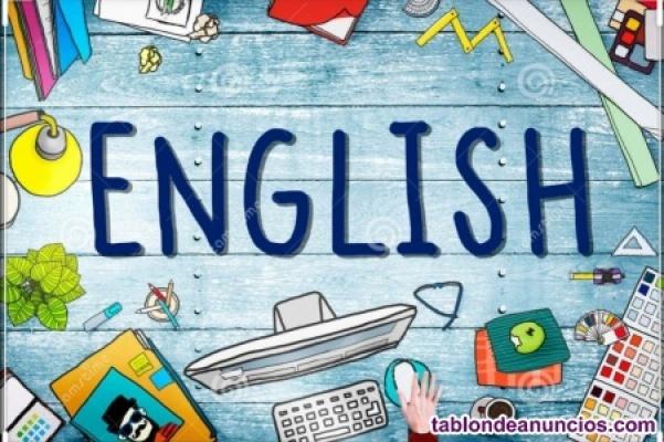 Clases online de Inglés (B1, refuerzo,...)