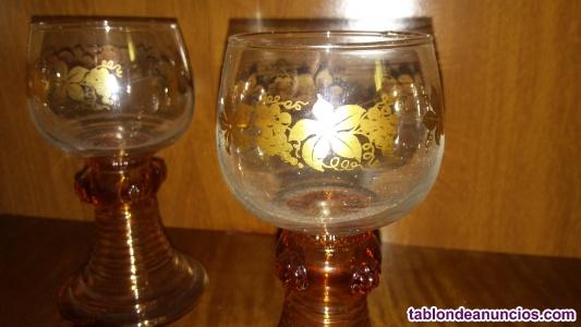 Portavelas / copa  cortavientos  de  cristal
