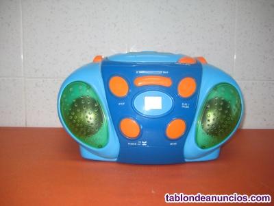 Reproductor CDs infantil