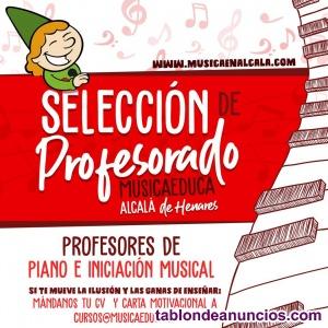 Profesor de Guitarra española