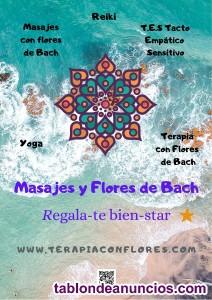 Terapias Naturales, Masaje y Flores de Bach en Altorreal y Murcia