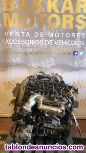 Motor Completo Kia Sorento H1 referencia D4CB 170CV