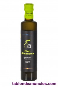 Aceite de oliva virgen extra maxima calidad 500ml arbequina