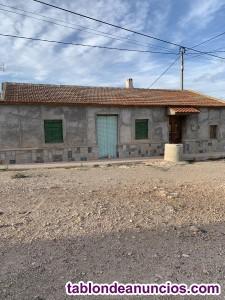 Se vende casa de campo con terreno