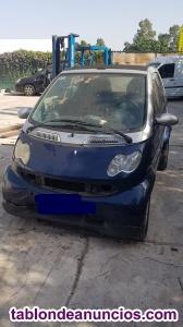Despiece completo Smart city cabrio w450,2006