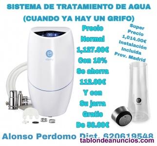 Sistema de tratamiento purificador de agua