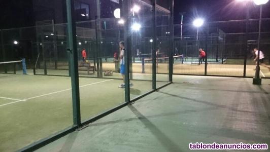 Vendo acción club de tenis de sueca