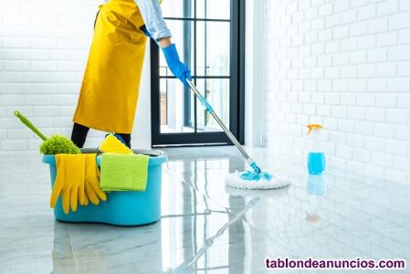 Mantenimiento de limpieza en hogar