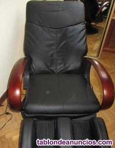 Sillon masaje rodillos alta gama