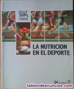 La nutrición en el deporte.