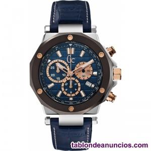 Reloj Cronógrafo de Hombre Azul, Modelo. Guess GC X72025G7S. Al mejor precio.