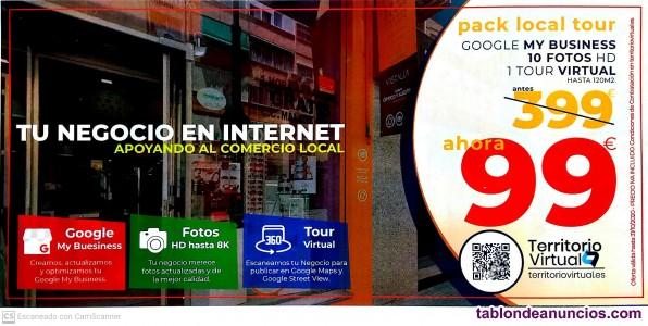 Fotografo - street view - tour virtual - 360º