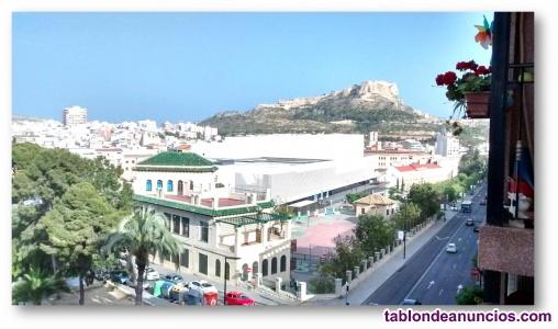 Amplio piso de 3 hab. Con vistas panorámicas, campoamor - en Alicante