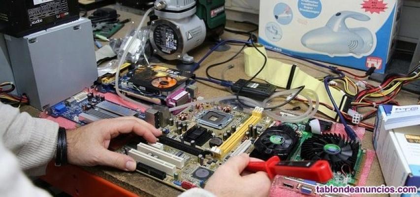 Reparación de ordenadores y portatiles