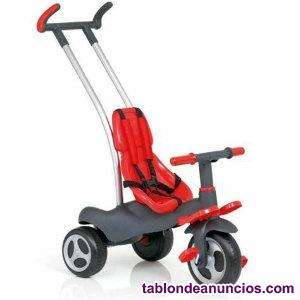 Triciclo Moltó - Urban Trike Easy Control - Color Rojo