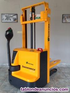 Apilador eléctrico de pesaje