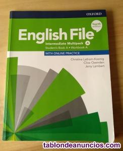 English File A con codigo de registro