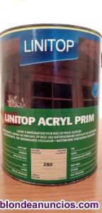 Linitop acryl prim incolore kleurloos 28