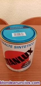 Lata pintura titanlux azul ancla 536