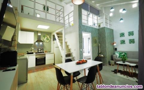 Precioso Duplex 90 m2, 2 habitaciones, zona Mercado, Alicante