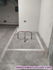 Alquiler plaza MOTO en garaje tranquilo y con puerta automática NUEVA NUMANCI