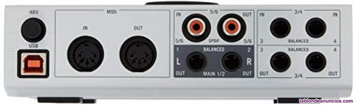 Vendo komplete audio 6