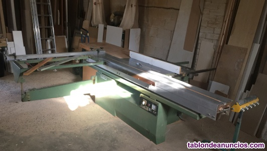 Maquinaria industrial de carpintería