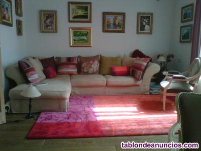 Sofá y alfombra roche bobois