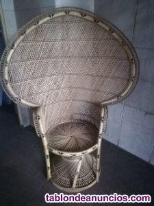 Butaca - sillón de rattan
