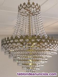 Vendo lámpara de cristales Agneta