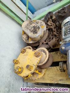 Polipasto de cadena manual 2000 kg