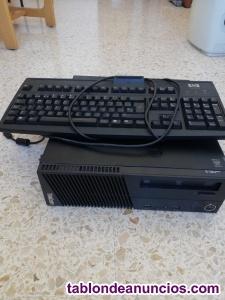 Venta ordenador sobremesa + teclado.
