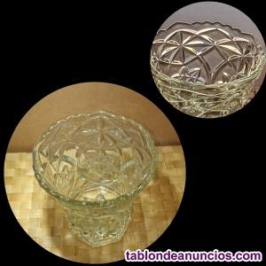 Jarrón italiano en cristal de roca Spirelli Art.