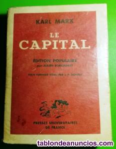 Karl Marx, Le Capital. Édition Populaire. (1956)
