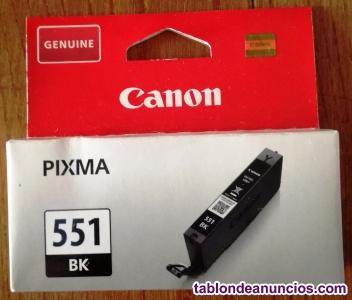 Cartucho de Tinta Negra CANON CLI-551 BK