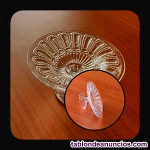 Servidor frutero en cristal de roca italiano Spirelli Art.