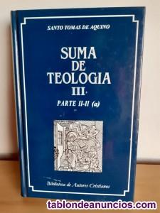 Suma teología, aquinate, vols. Iii-v