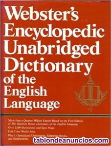 Diccionario de inglés Websters Encyclopedic