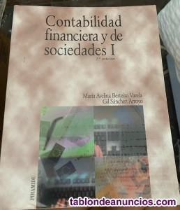 Contabilidad financiera y de sociedades i y ii