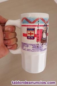 Jarra cerámica filá Vascos