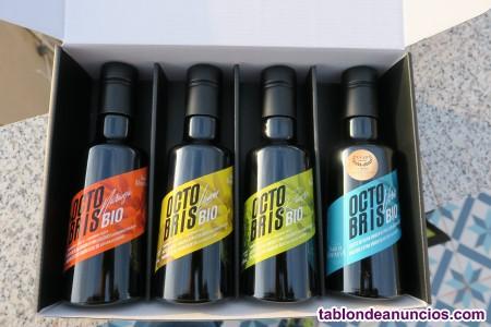 Estuche de aceites ecologicos premium de la comunidad valenciana