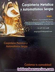 Carpintero metalico y automatismos